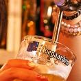 世界各国の豊富なお酒、ビールがいつでも飲めます★仕事帰りのサク飲みや、会社の歓送迎会に最適です♪飲み放題付のコースもご用意しております。