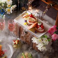 誕生日や記念日、歓送迎会等に◎豪華宝箱をご用意!