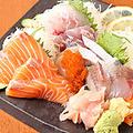 料理メニュー写真千寿籠太のお刺身盛り合わせ