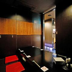【1F/掘りごたつ個室】1Fには4名様個室と6名様個室を各2部屋ずつご用意。