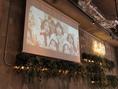 【大画面スクリーン】DVDやPC接続OK!結婚式の映像やサプライズ動画など上映可★