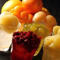 札幌No.1ゴロゴロフルーツを『食べる』サングリア♪