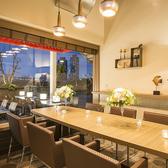 大人気の完全個室は早い者勝ち♪ランチパーティー、女子会にもうってつけのプライベート空間です。本格イタリアンをオシャレなデザイナーズ空間でご宴会いかがでしょうか