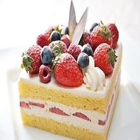 京都駅でお祝いなら、華やかなデコレーションケーキを♪