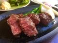 料理メニュー写真和牛ステーキ120g