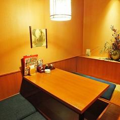 木の温もり溢れる 個室空間をご提供。