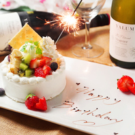 誕生日・記念日にサプライズケーキ