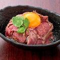料理メニュー写真肉寿司のポテトサラダ