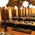最大70名様までご宴会可能な完全個室席をご用意しております。人数に合わせた個室席ご用意致します。銘柄鶏の逸品料理や海鮮舟盛り合わせが愉しめる宴会コースをご用意しております。