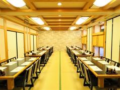ご宴会・ご慶事・ご法事などにお勧めな大広間のお座敷個室をご用意しております。