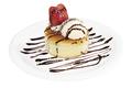 料理メニュー写真釜焼きホットケーキ