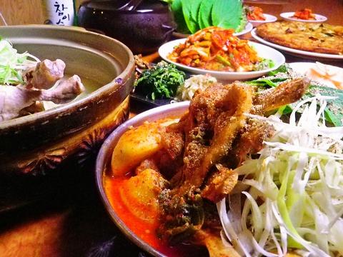 韓国家庭料理扶餘