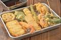 料理メニュー写真玉子焼き/煮玉子/煮豆腐/エイヒレ/はんぺん/帆立/白身魚/イカ