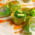 料理メニュー写真生春巻き風サラダ