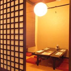 【2階フロア】4名×3・6名×3の半個室完備