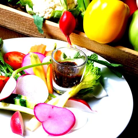 蕪木シェフが素材に魔法を掛ける…有機野菜と市場直送魚介類を使用した本格フレンチ♪