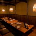 10~14名席半個室!会社宴会や友人同士の飲み会など、各種宴会に最適!