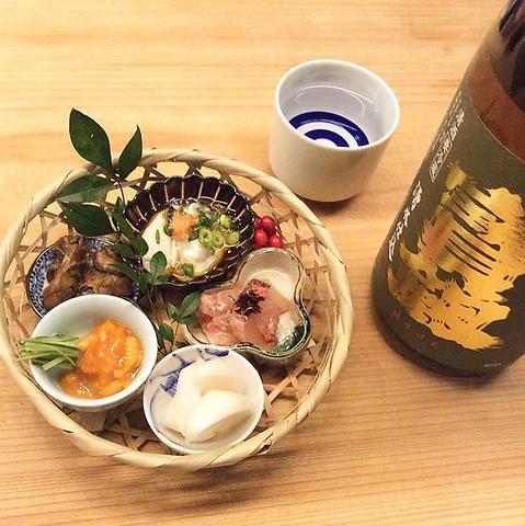 店長厳選の日本酒と旬の季節料理、有名地鶏料理を是非ご堪能ください。
