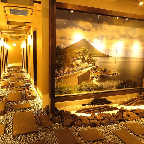 【完全個室】鹿児島の郷土料理を地酒と堪能♪溶岩焼き・藁焼きは必食♪