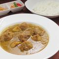 料理メニュー写真特製インドカレー(チキン)