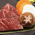 料理メニュー写真国産牛フィレ肉の石板焼き S