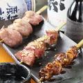 料理メニュー写真肉串3種
