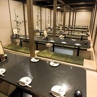 東銀座の宴会はゆったり落ち着ける和の個室空間居酒屋!