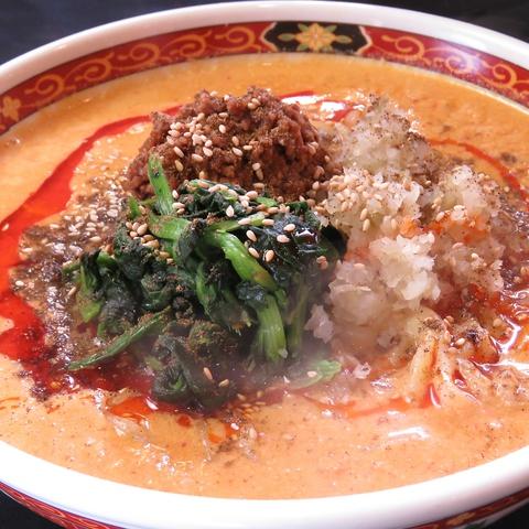 本格四川の香り立つ極上スパイスの坦々麺