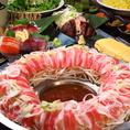 北海道の豊かな食材を満足ゆくまでお召し上がり下さい!北海道十勝産彩美牛の炙り寿司やフォトジェニックしゃぶしゃぶをご用意しております。