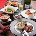 バレンタインやホワイトデー、誕生日・記念日等大切な方と過ごす際のお食事コースもご用意しております^^