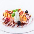 """♪♪デザートのご紹介♪♪カスタードアイスケーキ""""カタラーナ"""""""