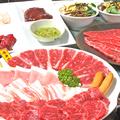 料理メニュー写真中山亭コース\3000