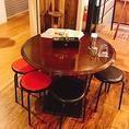丸 テーブル席