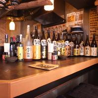 果実酒&日本酒は20種以上の品ぞろえ