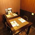 【1F】改装しました!最大10名様までのテーブル席です!