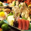 贅沢に使用した海鮮は圧巻の一言!