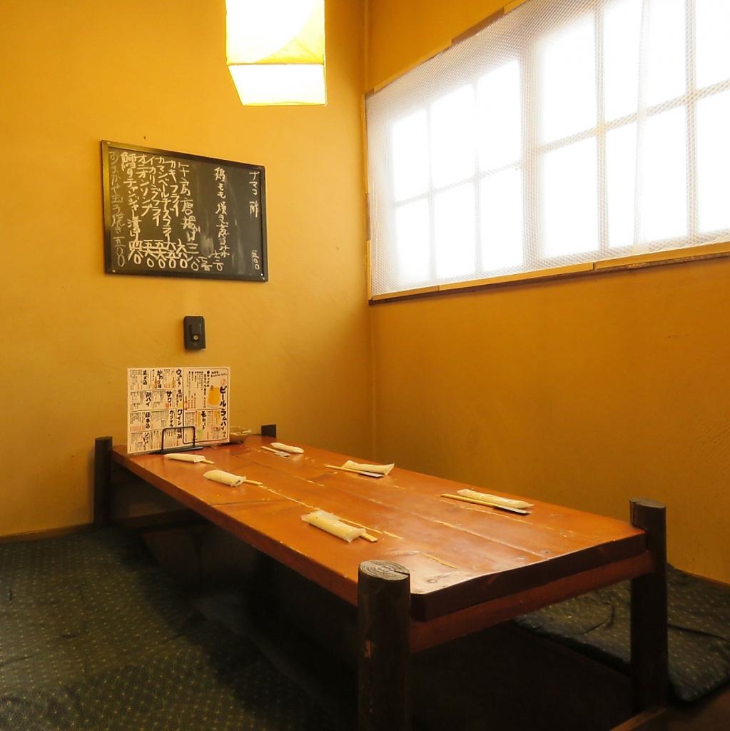 3タイプの個室完備!【1】掘りごたつ席2~5名
