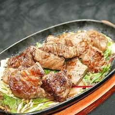 料理メニュー写真【肉】がっつり刻コロステーキ