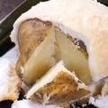 料理メニュー写真定番!塩焼きじゃがバター/マヨポンたこ焼き