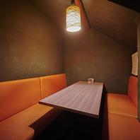 宴会向き!最大8名様収容可能な個室完備しております!