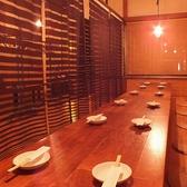 【2階お座敷席】パーテーションで区切れば、12~18名様のご宴会も◎人数に応じてレイアウト変更可能。お気軽にご相談下さい。
