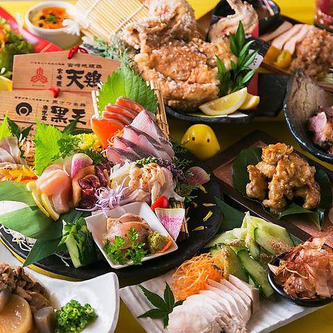 【全席完全個室×九州の地鶏を堪能】!最大100名様までの宴会が個室で可能♪