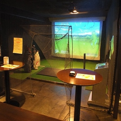 【室内ゴルフ】プレイゾーン♪