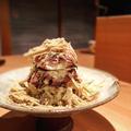 料理メニュー写真鴨のポテトサラダ 凍りフォアグラ