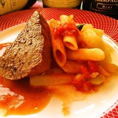 柔らか牛肉のステーキ