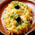 料理メニュー写真バカリャウとポテトの卵炒め