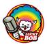 ラッキーボブ with 金の蔵Jr.のロゴ