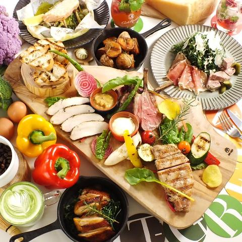 身体に優しい有機野菜メニュー有◎ネット予約の際はお食事のご利用をお願いします☆