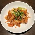 料理メニュー写真豚キムチ