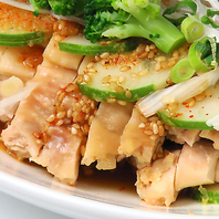 九州産鶏のピリ辛よだれ鶏